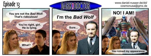 Dark!Doctor 13
